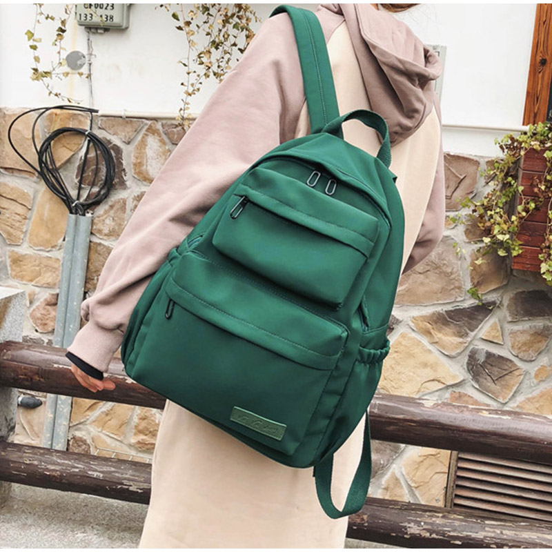 New Waterproof Nylon Backpack For Women Multi Pocket Travel Backpacks Female School Bag 2019 Teenage Girls Book Mochilas