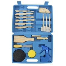 Wooden Polymer Clay Tools Sculpting Sculpture Kit for Beginners and Professional Art Crafts