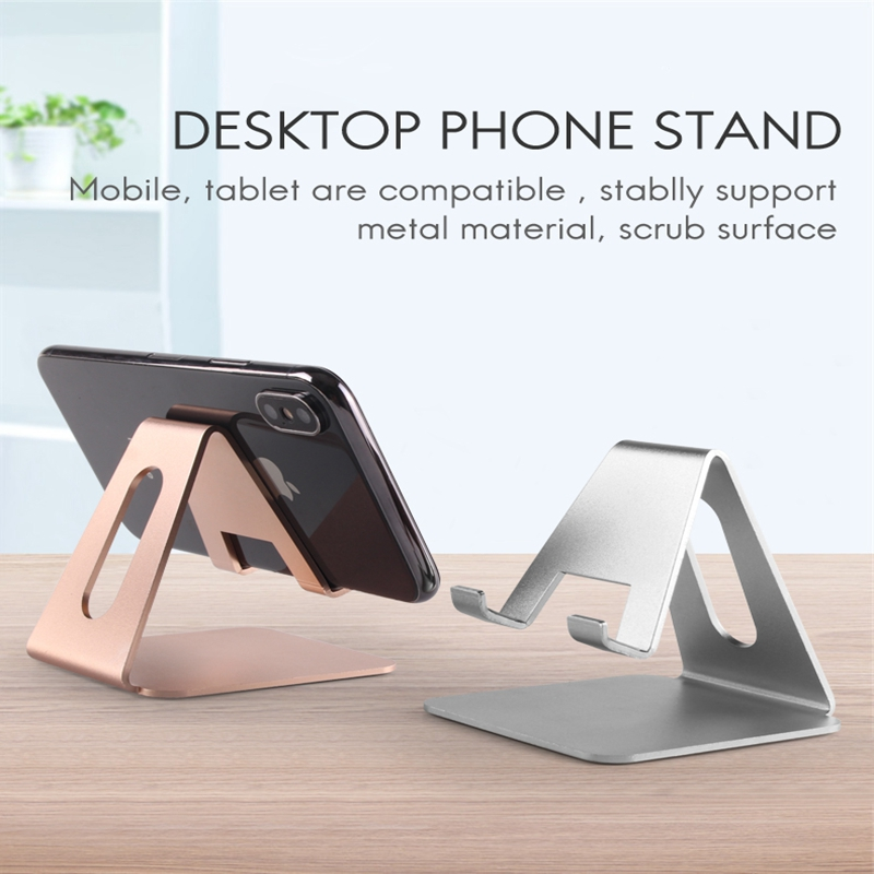 Universal Metal Phone Holder Stand For Samsung S10 5G S8 S9 S10 Plus Ipad Desk Holder For Iphone 6 7 8 Plus Huawei P30 P20 Nova5