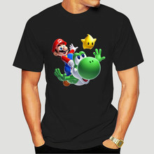 Mario Yoshi Men T Shirt Drop Shipping Brand Plus Size Cotton Crewneck Short Sleeve T Shirts 4683X