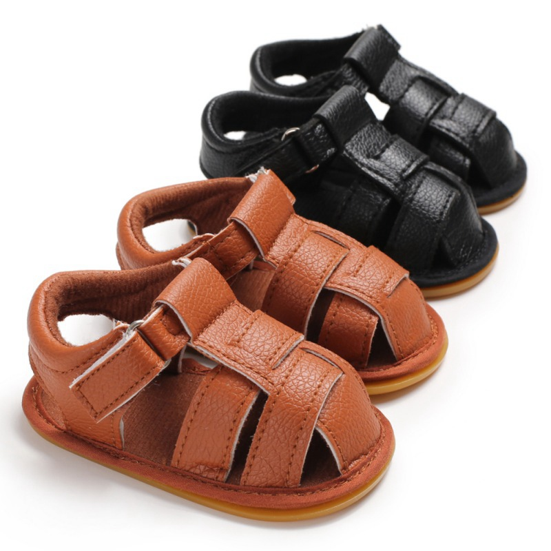 Boy Girl Summer Sandals Bebe Party Baby Shoes Infant Birthday Gold PU Nonslip Baby Moccasins Shoes Soft Soled First Walkers