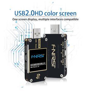 Image 3 - Fnb38 medidor de corrente e tensão tester usb qc4 + pd3.0 2.0 pps rápido protocolo de carregamento capacidade teste usb tester