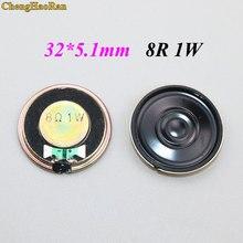Chengaoran – Mini haut-parleur rond, 1W, 8 Ohms, 8R, diamètre 32MM, épaisseur 5.1MM, 10 pièces