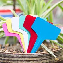 Stake Plant-Markers Tags Labels Gardening-Accessories Waterproof Seed Nursery T-Type