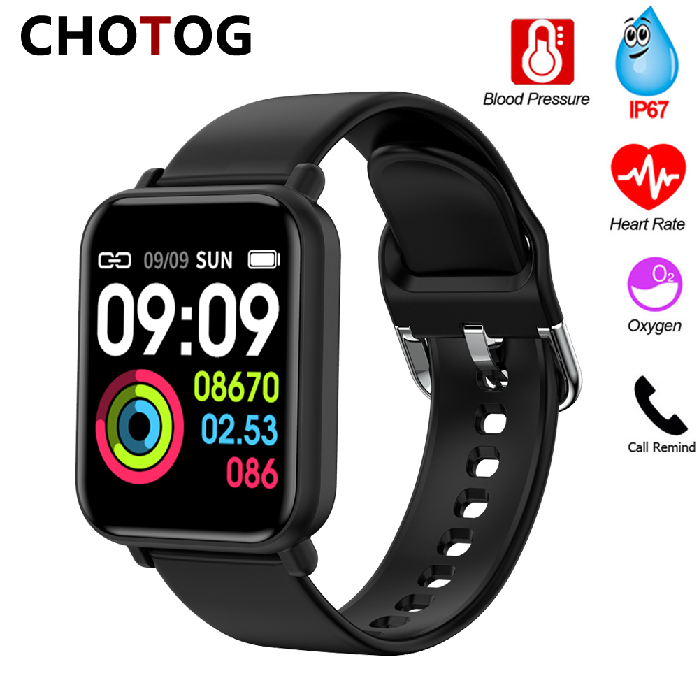 2020 Smart Watch Men Women Blood Pressure Measurement Smartwatch Waterproof IP67 Oxygen Heart Rate Watch Smart For Android IOS