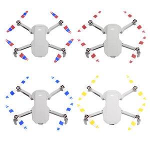 Image 2 - 4 paire hélice de remplacement colorée pour DJI Mavic Mini Drone 4726 accessoires lame aile ventilateurs accessoires pièces de rechange Kits