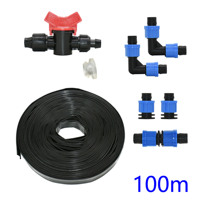16mm drip tape for irrigation system Drip irrigation Tape Watering System 0.2mm wall thickness Spacing 150mm 300mm