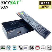 Odbiornik satelitarny SKYSAT V20 HD Powervu DVB S2 PK Gtmedia V8 Nova PK SKYSAT S2020