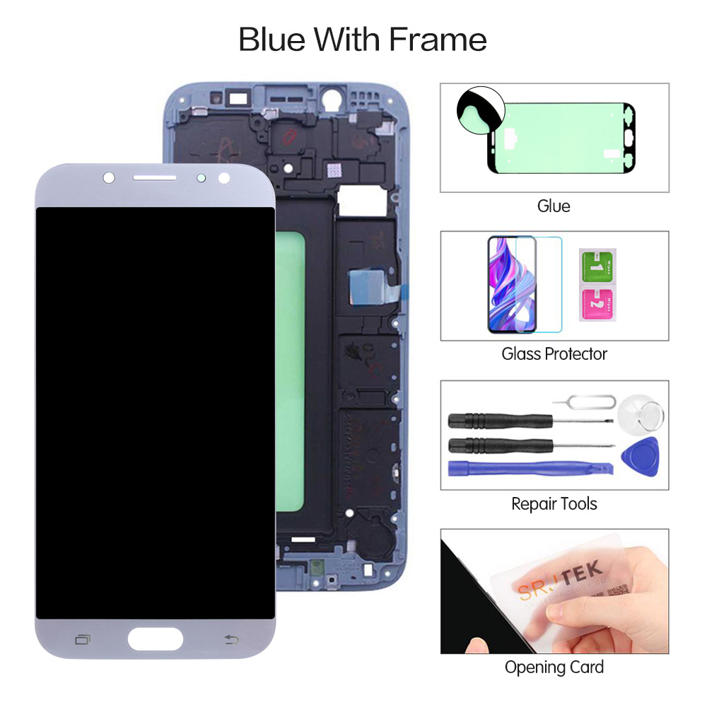 Blue With Frame
