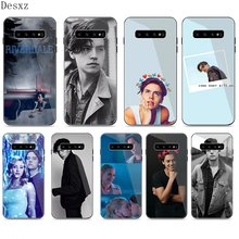 Caso para Samsung A40 A50 A10 A20 A30 A60 A70 S10 S7 borde S8 S9 Nota 8 9 10 Plus TV americana Riverdale serie Cole Sprouse(China)