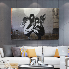 Street Art good The Bad And The Moon Abstract Fashion Style Canvas Painting Art Print Poster Picture Wall Living Room Home Decor cox t the good the bad and the furry