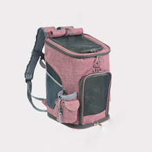 Pet Cat Carrying Bag Breathable Folding Backpack Travel Dog Kittens And Dogs