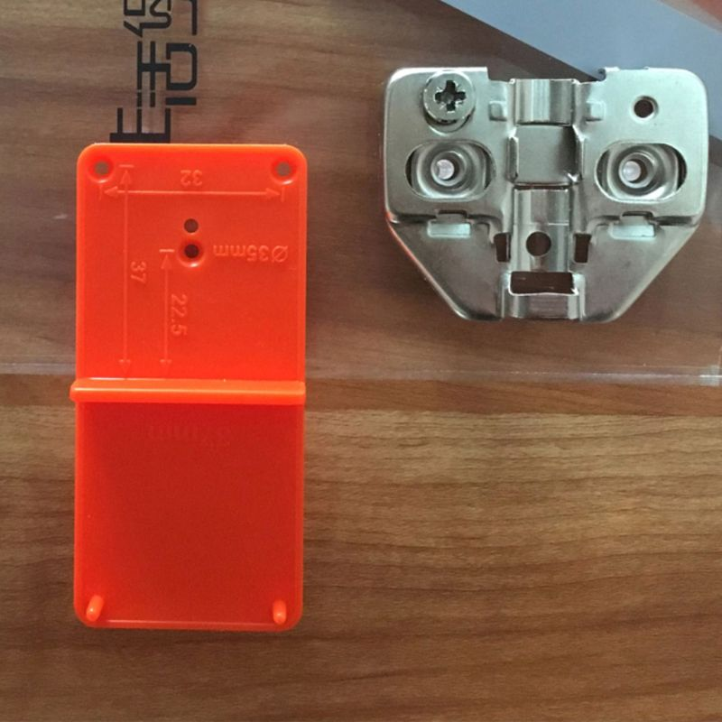 35mm 40mm Hinge Hole Drilling Guide Locator Hole Opener Template Door Cabinets DIY Tool For Woodworking Tool M4YD