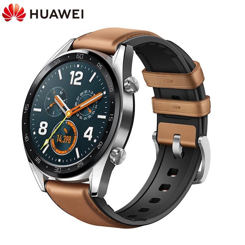 Reloj inteligente Original Global HUAWEI GT resistente al agua con rastreador de frecuencia cardíaca GPS para hombre, rastreador deportivo, reloj inteligente para Android IOS - 2