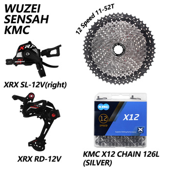 SENSAH XRX 1x12 Speed M9100 Mountain Bicycle Bike Derailleurs 11-46/50/52T 9-50T XD Flywheel KMC X12 Chain GXP crank sprocket