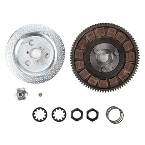 Image 1 - 2 Stroke Motorized Bicycle Complete Clutch Bevel Wheel Assembly Bike Replacement For 80cc Gas Motorized Bicycle