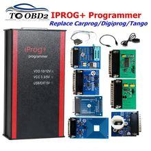 Программатор Iprog + V84 Pro, поддержка IMMO + коррекция пробега + сброс подушек безопасности до 2019 года, замена Carprog/Tango/Digiprog