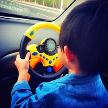 Simulation Steering Wheel with Light  Kids Musical Developing Educational Toy Electronic Vocal Toys for Children Birthday Gift