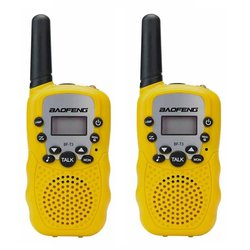2Pcs set Baofeng BF-T3 UHF462-467MHz 8 Channel Portable Two-Way 10 Call Tones Radio Transceiver for Kids Radio Walkie Talkie