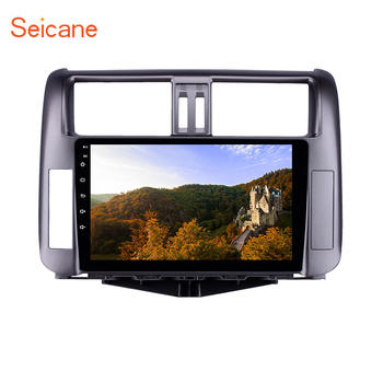 Seicane 2Din 9 inch Car Radio GPS Multimedia Player Android 8.1 For Toyota Prado 150 2010 2011 2012 2013 Quad Core Navigation
