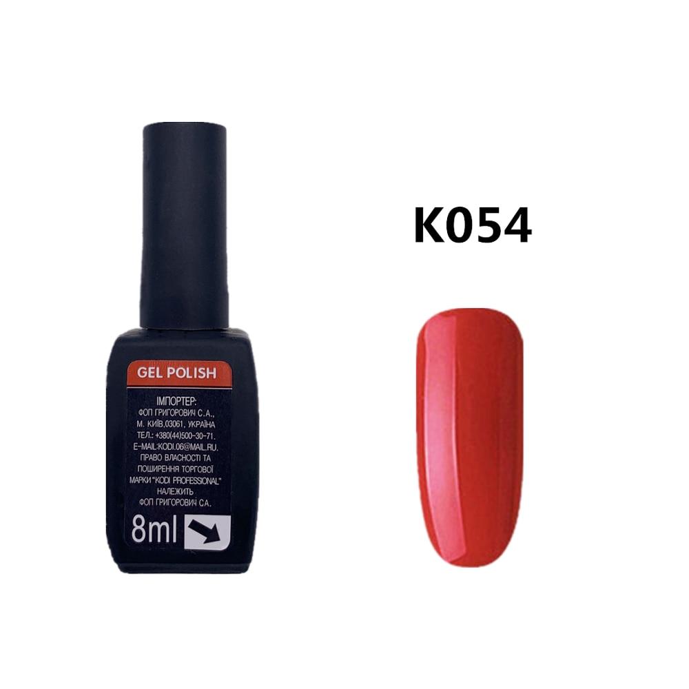 KODI เจล 8ML เจลสำหรับเล็บศิลปะการออกแบบ DIY Professional UV LED redColors เล็บ HYBRID ยาว- ยาวนานเจล