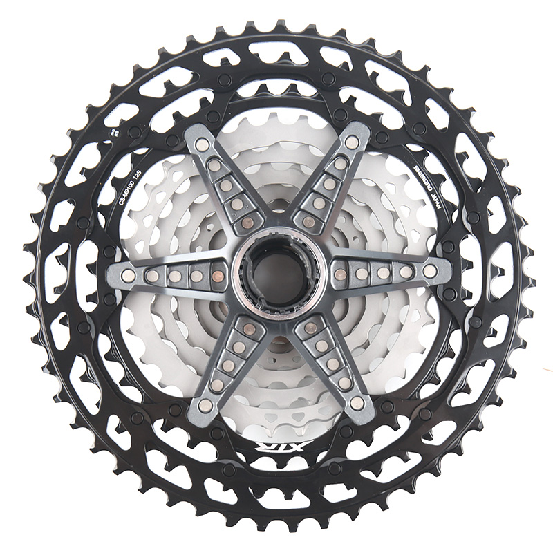 Shimano XTR CS M9100 Cassette  K7 Sprocket 12 Speed 10-51T MTB Bike Freewheel New MICRO SPLINE Freehub Body