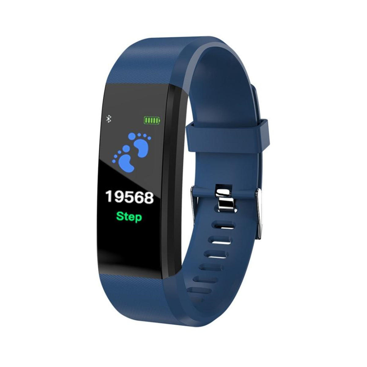 New Silicone Smart Bracelet Wristband Heart Rate Monitor Blood Pressure Fitness Tracker Life Waterproof  Watch Straps For XANES
