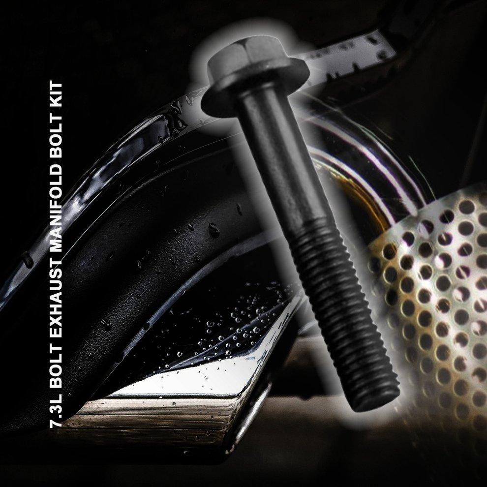 New 7.3L Ford Power Stroke Diesel Exhaust Manifold Bolt Kit