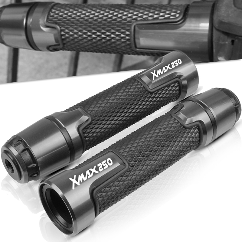 CNC Motorcycle Handlebar Grip Handle Bar Scooter Handle Grips FOR Yamaha XMAX X-Max 250 ABS 2012 2013 2014 2015 2016 2017 2018