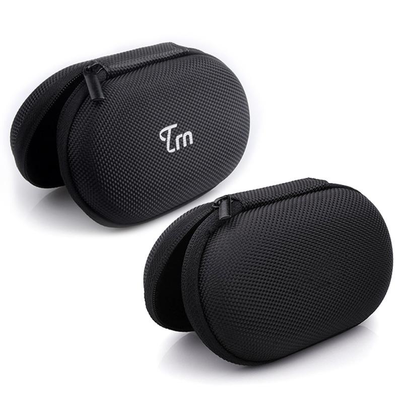 Anti-Fall Anti-Shock Shockproof Oxford Cloth EVA Headset Bag Data Cable Bluetooth Earphone Storage Bag Protective Box