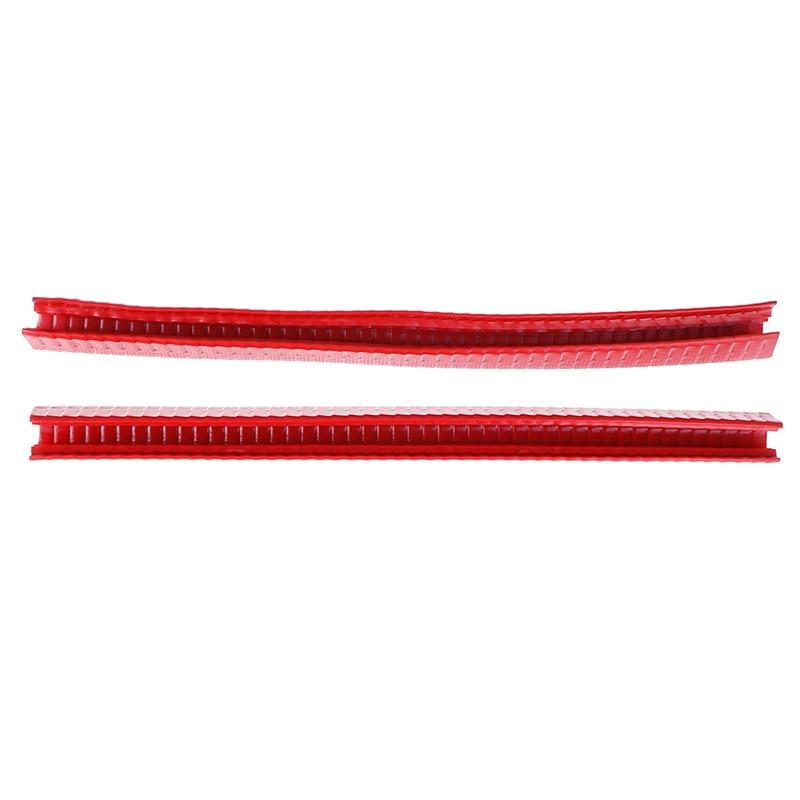 2Pcs Rubber Longboard Skateboard Deck Protection Strip Nose Guard Tail Guard Longboard Deck Anti-collision Avoid Hurting