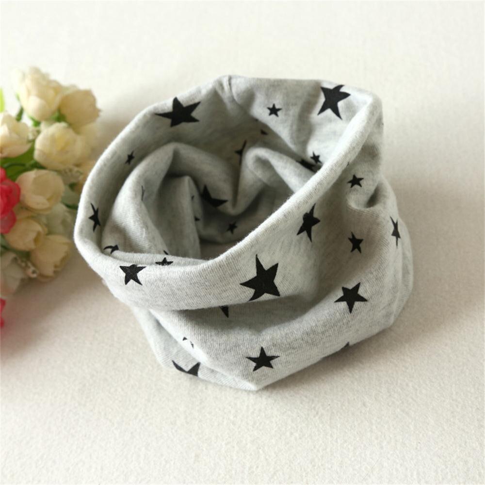 Beige Koly Autumn Winter Baby Girl Boy Collar Scarf Cotton O Ring Neckerchief Scarves
