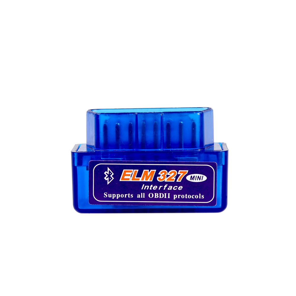 MINI ELM327 Bluetooth OBD2 elm327 V2.1 elm 327 obd2 scanner obd 2 odb2 autoscanner(China)