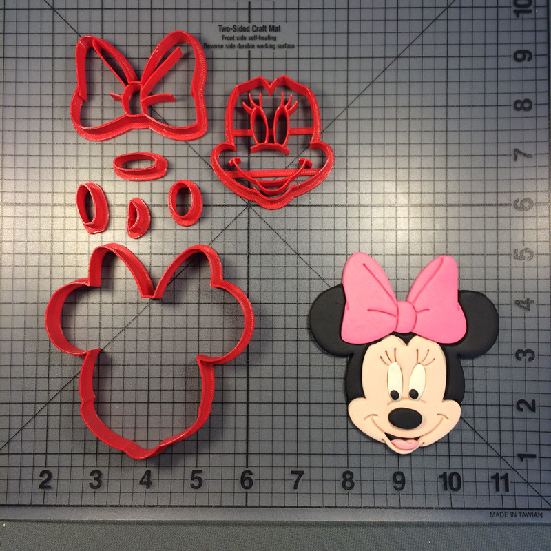 Mouse Minnie Cookie Tool Baking Set Customized Molds Parent-child Diy Home Baking Kitchen Icing Baking Tools Cake Molds