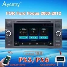 PX6 Auto Radio 2 din Android 10 multimedia dvd player GPS autoradio Für Ford Mondeo Focus S max C MAX galaxy Fiesta Fusion kuga