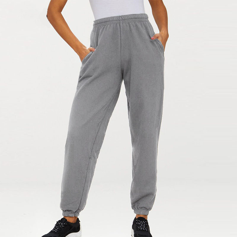 Pantalones Harem Para Mujer Cintura Elastica Invierno Joggers Pantalones Streetwear Sweatpants Senoras Pantalones Casual Deportes Pantalones Pantalones Y Pantalones Capri Aliexpress