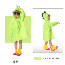 Baby Child Creative Raincoat Kindergarten Student Poncho Boy Girl Raincoat Cartoon Dinosaur Raincoat Snow Coat Capa De Chuva