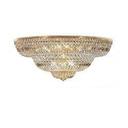 Phube przedpokoju oświetlenie duże Foyer światła sufit kryształ francuski imperium złoty kryształ Flush do montażu na ścianie światło + darmowa wysyłka!