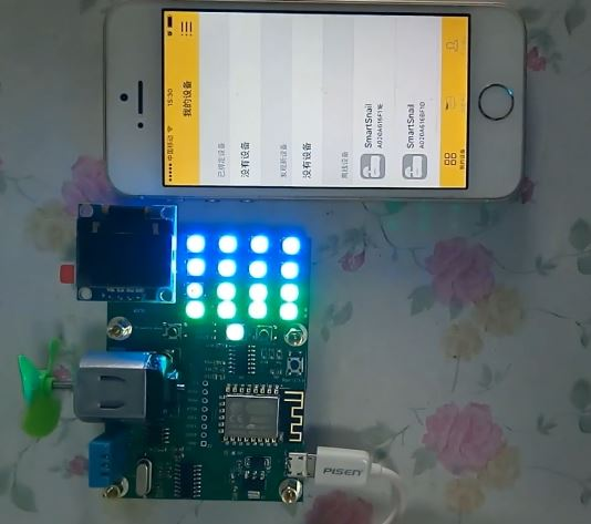 Carte de développement Esp8266 tutoriel vidéo carte de développement IoT carte de développement Wifi Ws2812