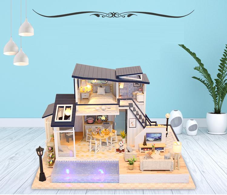 Mermaid Tribe DIY 3D Dollhouse Kit