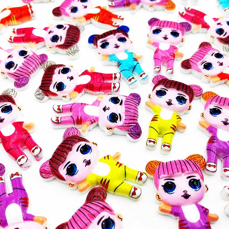 Muñeca sorpresa Lol, accesorios de resina, bolsa de bendición, paraíso para niños, taller de artesanía, muñecas DIY interesantes para niñas, Juguetes