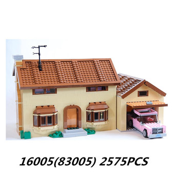 Lepin blocks 16005 16004 Movie Toys City Lepining Creator Kwik-E-Mart King Friend House Building Blocks Bricks 71006 71016 Kids 2