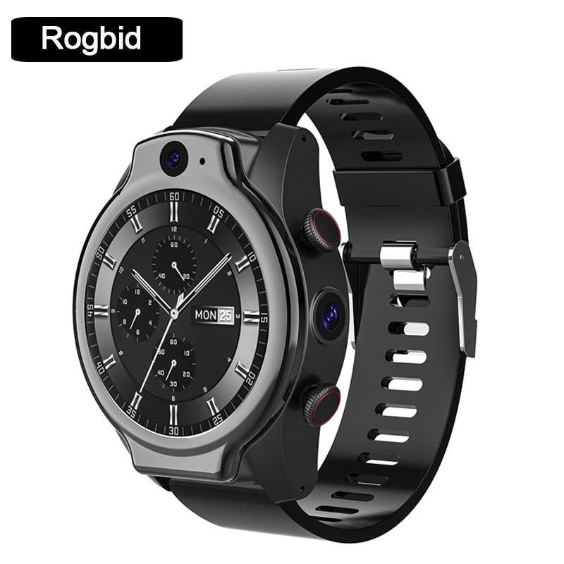 Permalink to Rogbid Brave Pro 4G LTE Global Smartwatch Smart Watch Phone 4+64GB 1.69 inch 8.0+13.0MP Dual Camera 1600mAh GPS IP68 Waterproof