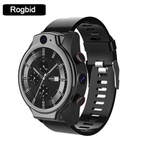Rogbid-reloj inteligente Brave Pro, 4G, LTE, Global, 4 + 64GB, 1,69 pulgadas, 8,0 + 13.0, cámara Dual MP, 1600mAh, GPS, IP68, resistente al agua