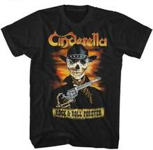 Cinderella Rock And Roll Forever Adult T Shirt Music