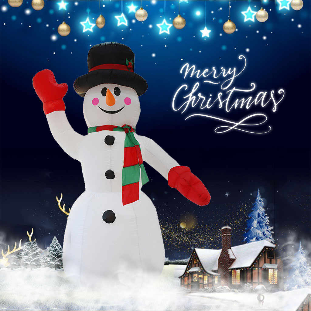 Inflatable Christmas Snowman Outdoor Christmas Decoration Home Garden Xmas New Year Festival Party Props Decor Gift For Kids Aliexpress