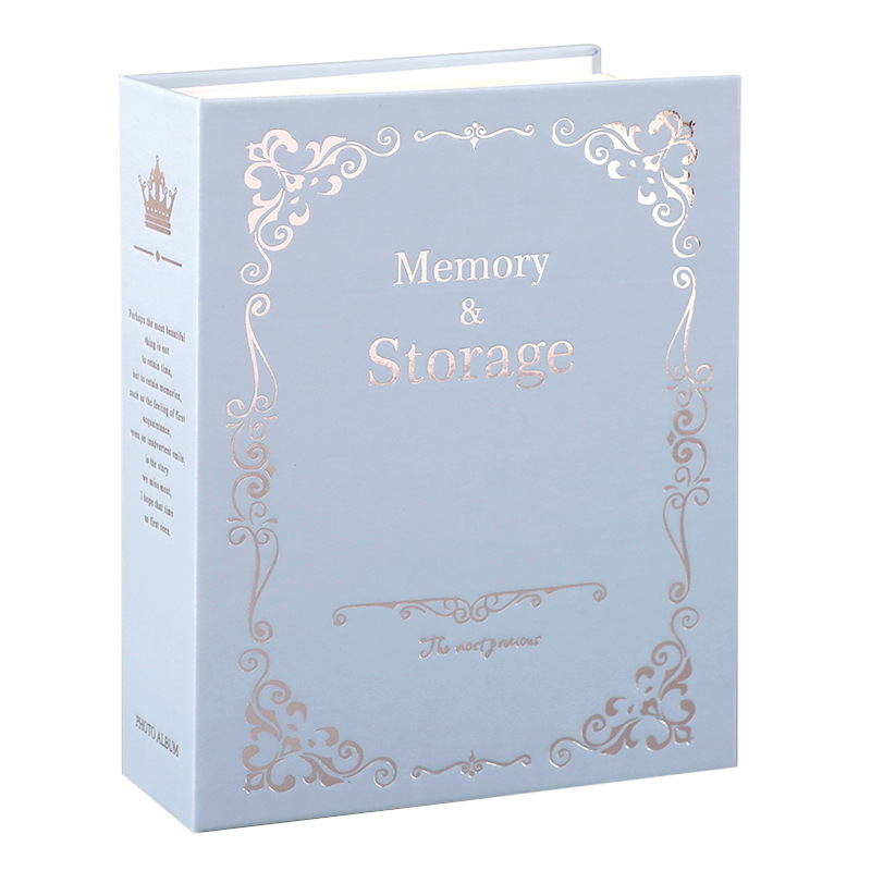 Retro Large 6-inch 4d Photo Album,100 Pockets Wedding Photoalbum,photo Album For Newborns,photocard Holder,photo Book