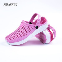 Pink-Unisex Summer Beach Sandals Slipper Flat Anti-Slip