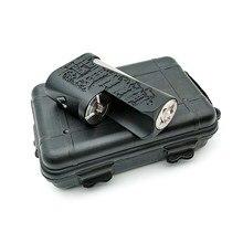 Катана коробка мод нейлон 304ss материал 40A выход vape подходит 18650 батарея vs SXK Stealth 60 Вт Squonk мод SXK заготовка коробка V4 70 Вт