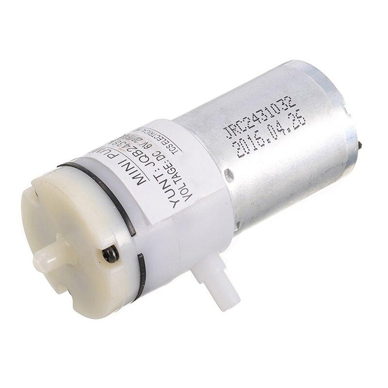 1pc Micro Mini 370 Motor Air Pump  Self-Priming Breast Vacuum Pump DC 3V-6V 5V